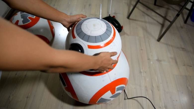 BB-8 Droid Toy Build Your Own