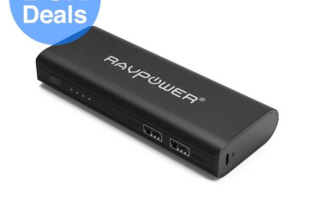 Portable smartphone charger
