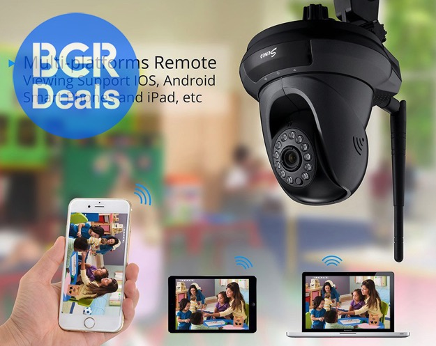 Remote Security Camera iPhone