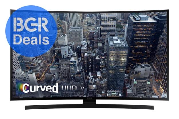 Curved 4K TV