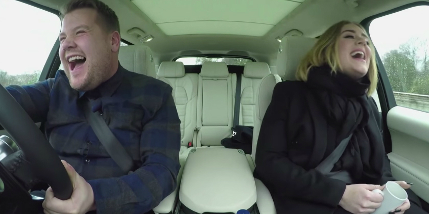 Adele Hello Carpool Karaoke