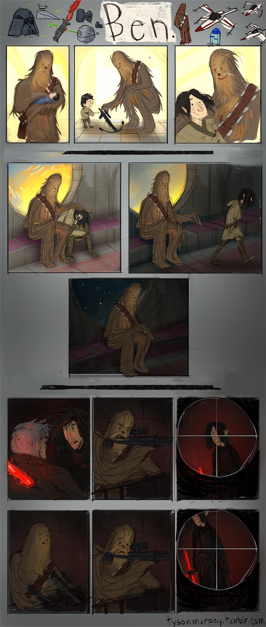 chewbacca-kylo-ren-relationship