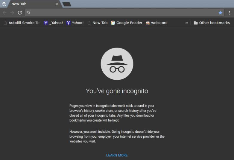 Chrome Incognito