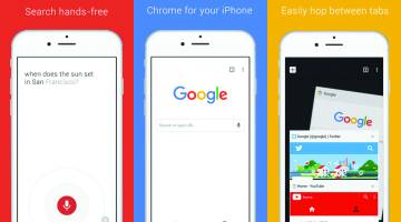 Google Chrome iPhone App Update