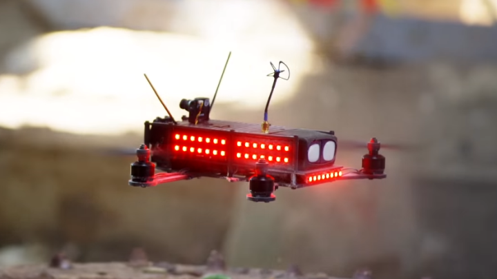 Competitive Drone Racing League Video