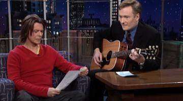 Conan David Bowie Tribute Video