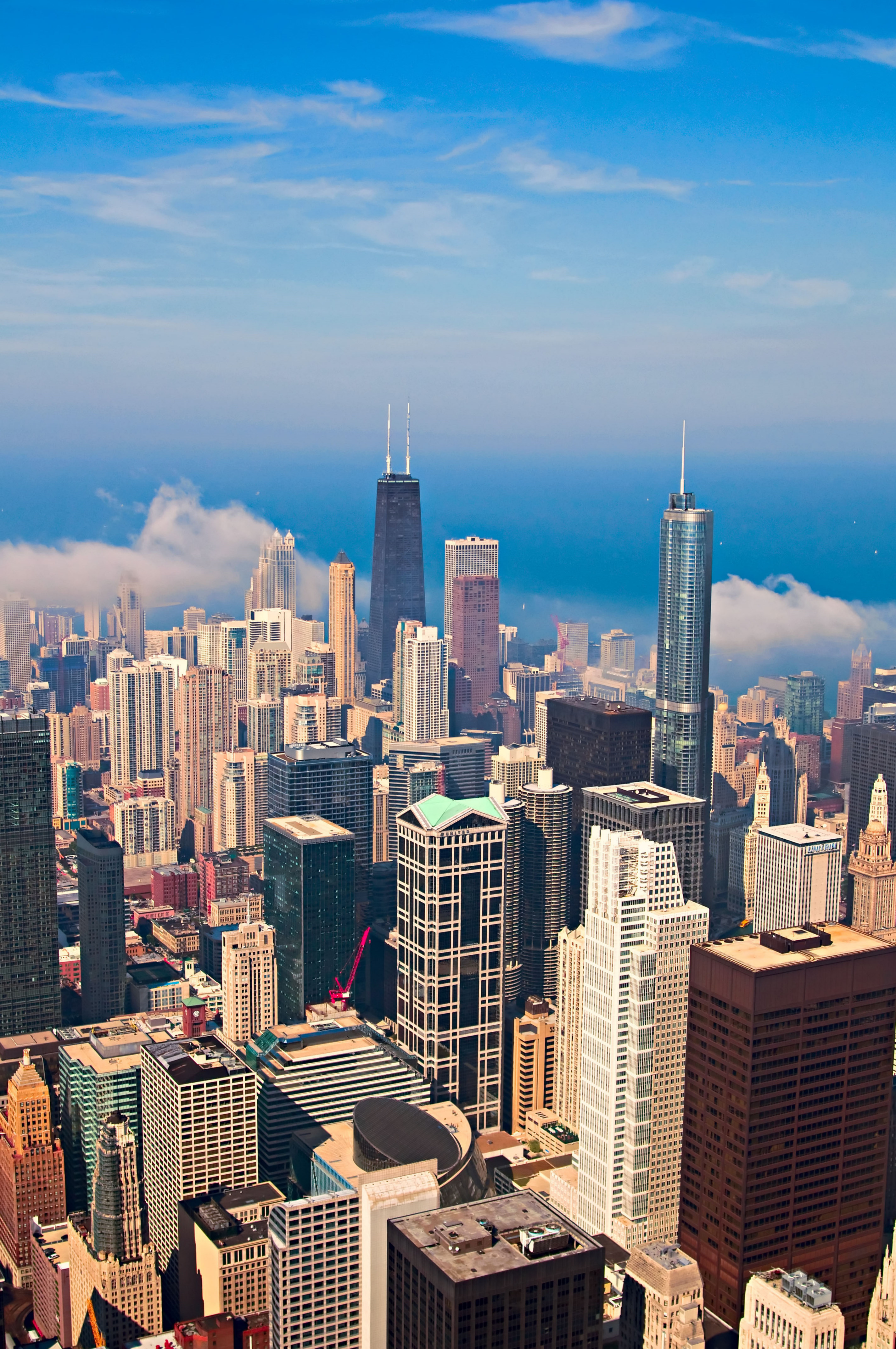 Dustin J Williams - Skyline from the Sears Tower