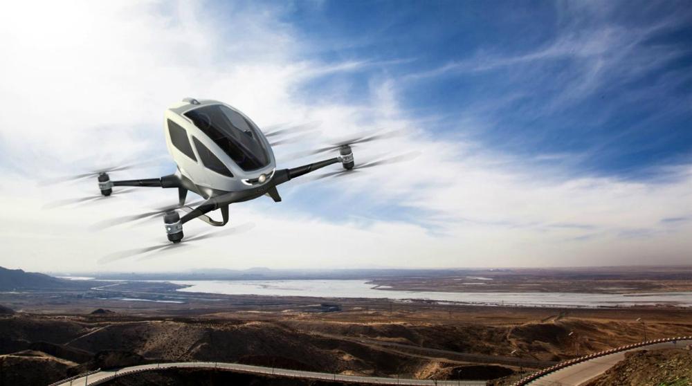 EHang 184 Personal Transportation Drone