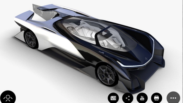 Faraday Future Concept Car Photos