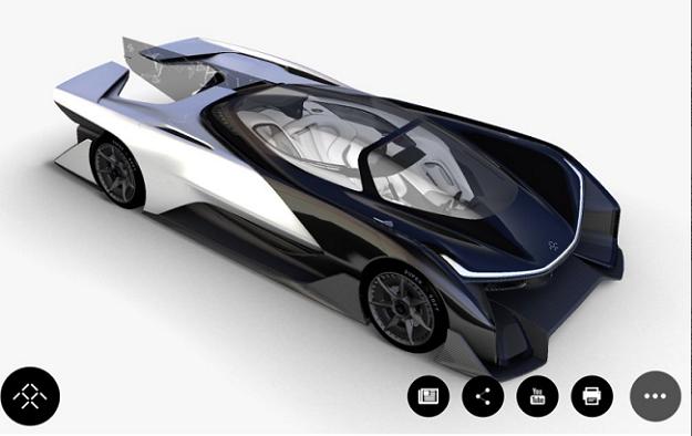 Faraday Future Concept Car Photos