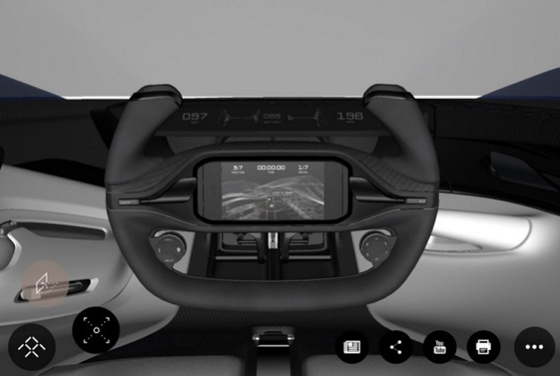 faraday-future steering wheel