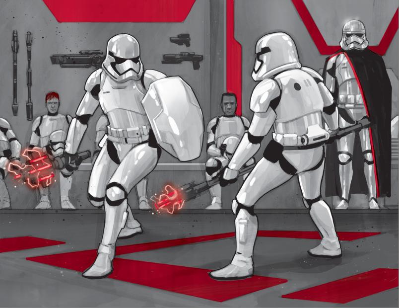 Star Wars The Force Awakens TR-8R Stormtrooper