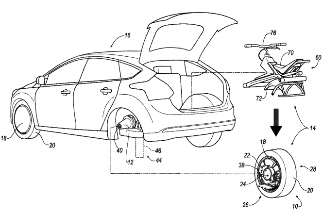 Ford Patents Futuristic Electric Unicycle