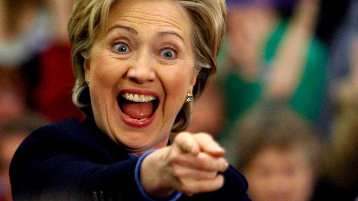 Hillary Clinton Aliens Area 51