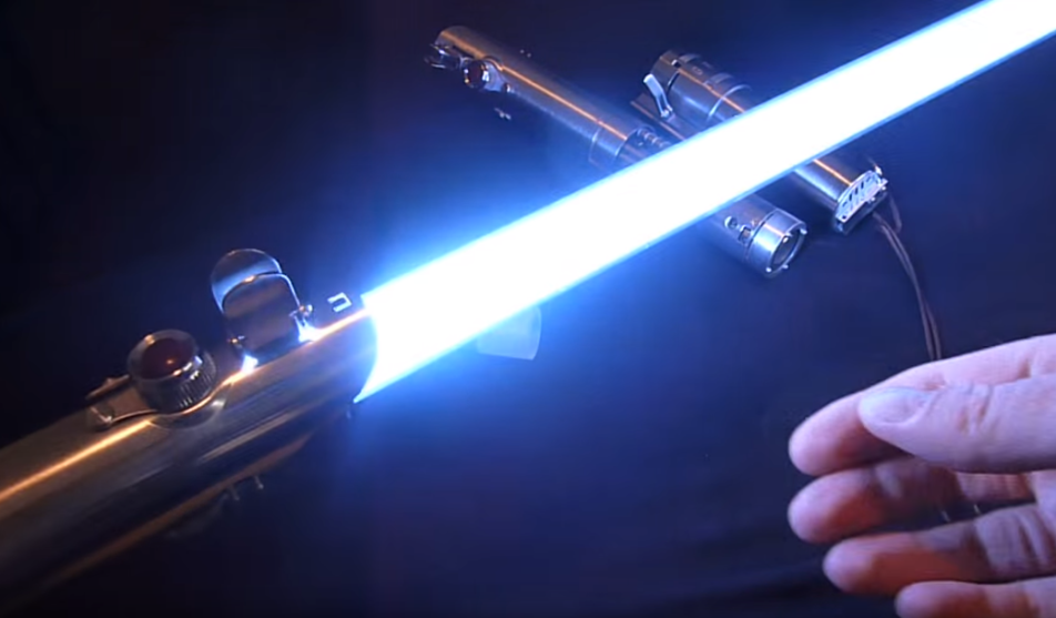 Best Homemade Lightsaber Ever Video