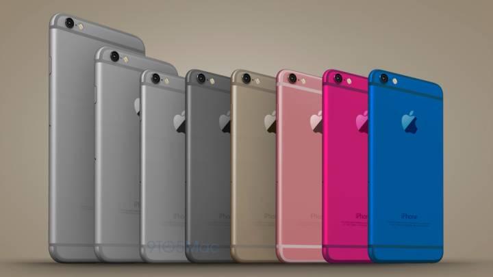 iPhone 6c Mockup Images