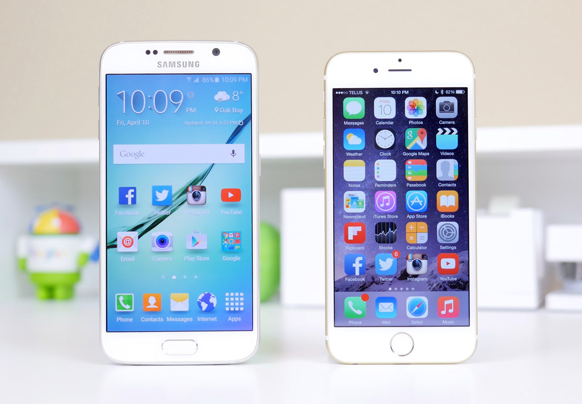Mobile   The iPhone 8 and Galaxy S8 will share one critical feature    Chris Smith@ch