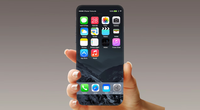 apple s 2017 iphone said to feature edgeless display and. Black Bedroom Furniture Sets. Home Design Ideas
