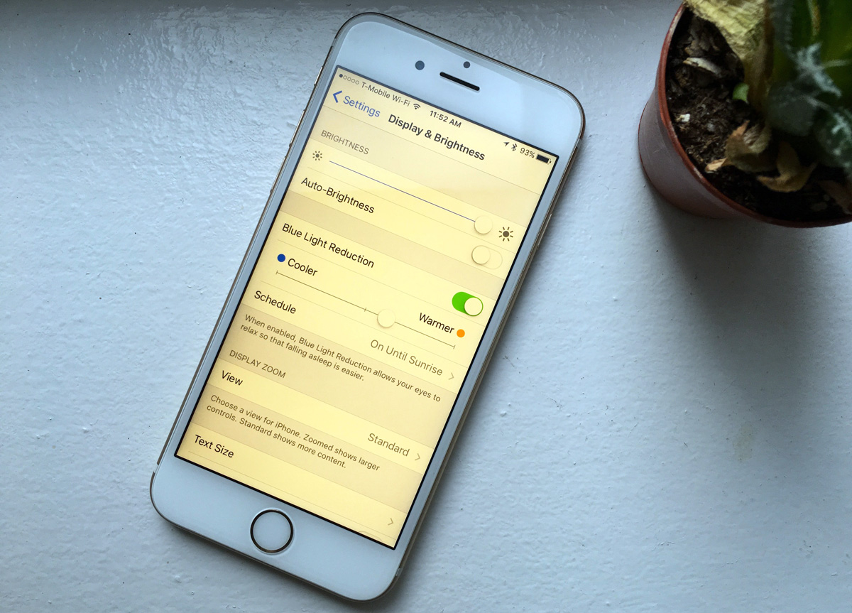 How To Get Night Shift On iPhone
