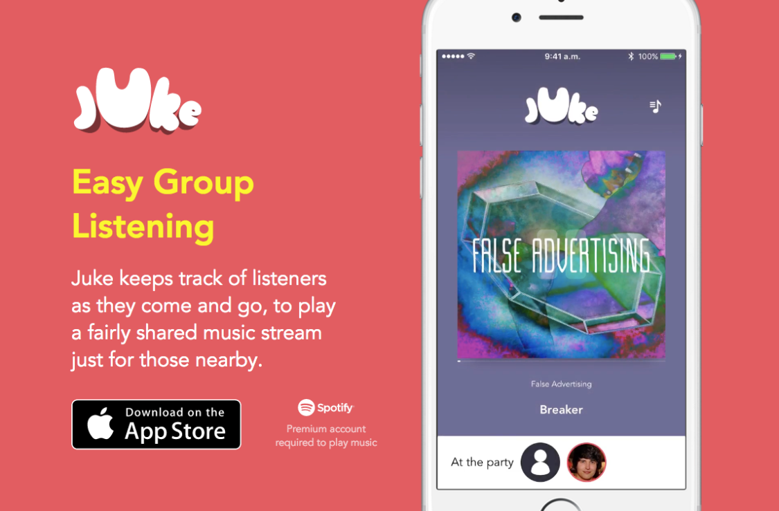 Juke Spotify Jukebox Free App
