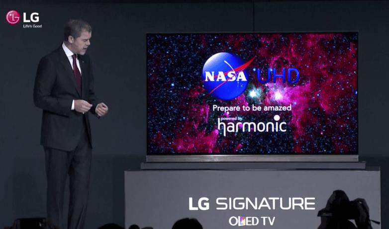 CES 2016 LG Signature OLED TV 4K