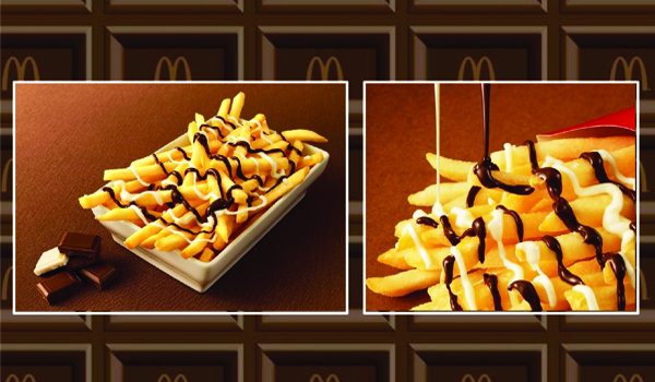 McDonald's Japan Chocolate Covered Fries