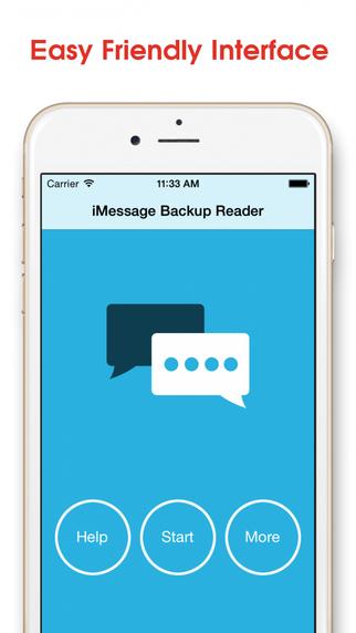 Message Backup Reader
