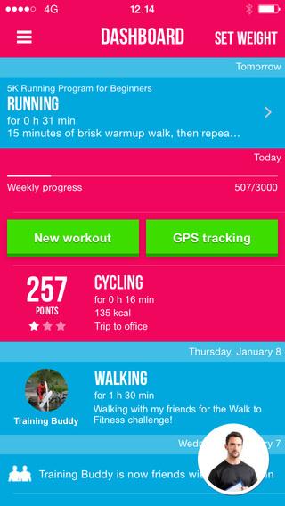 Motivade Fitness Tracker