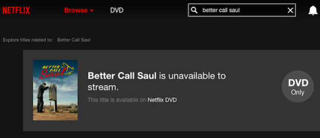 netflix better call saul