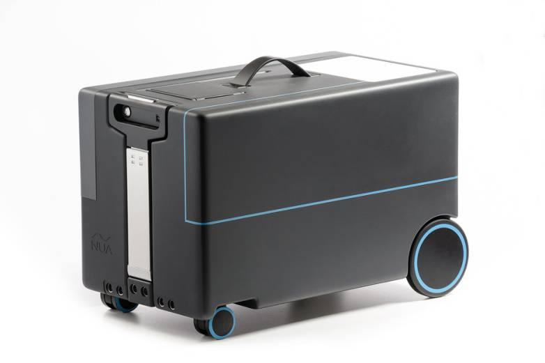 NUA Robotics Smart Luggage