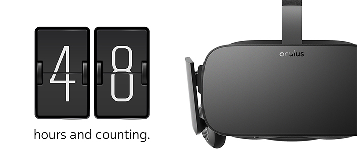 Oculus Rift Preorder January 6th