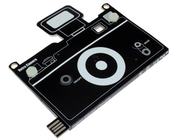 Paper Thin Camera