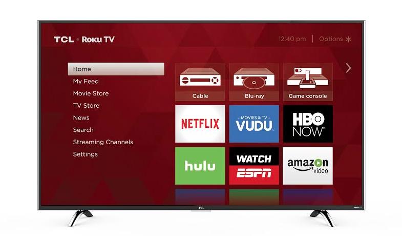 Roku TCL 4K UHD TV