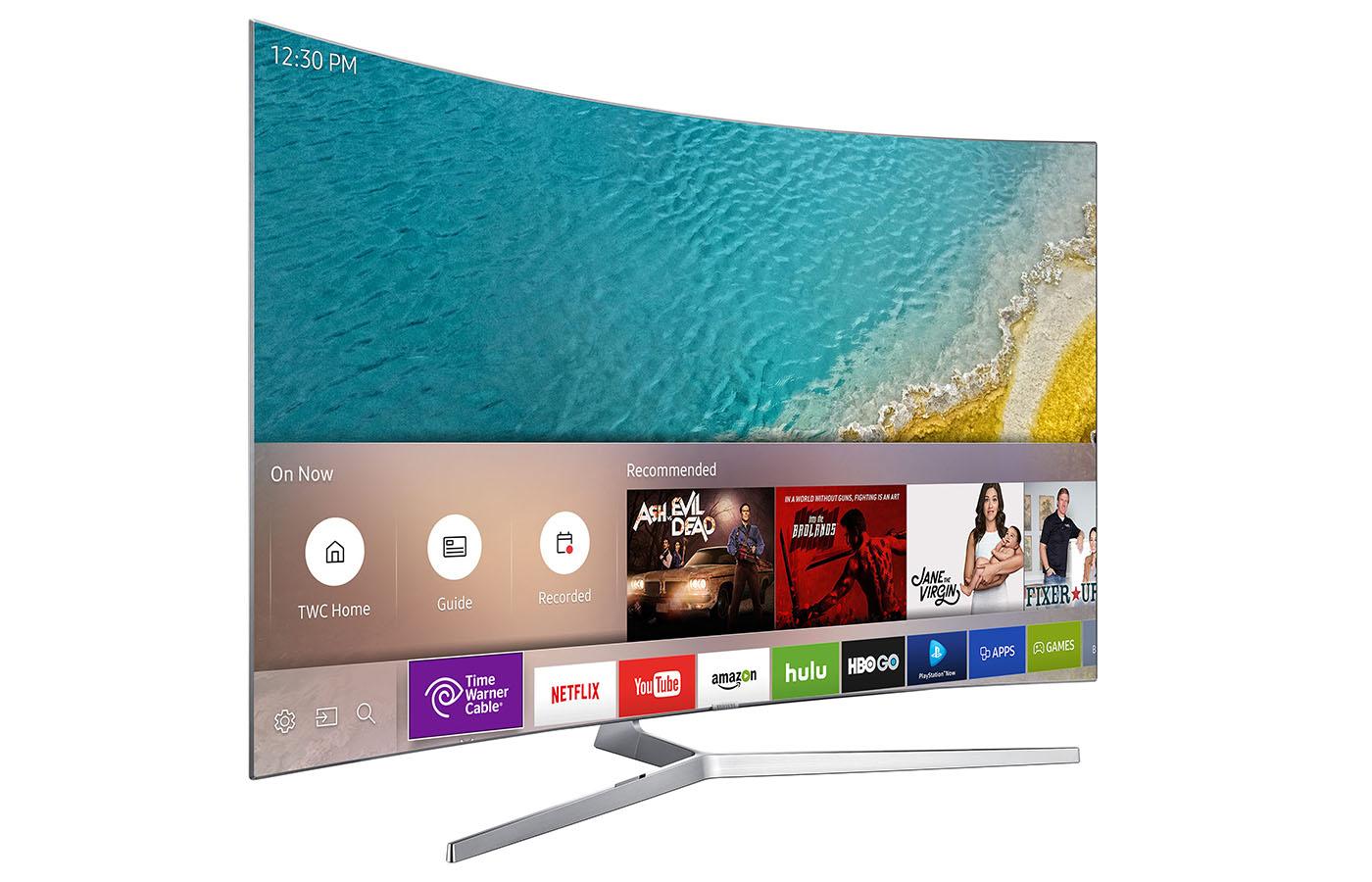 Samsung Smart TV Ad Tiles