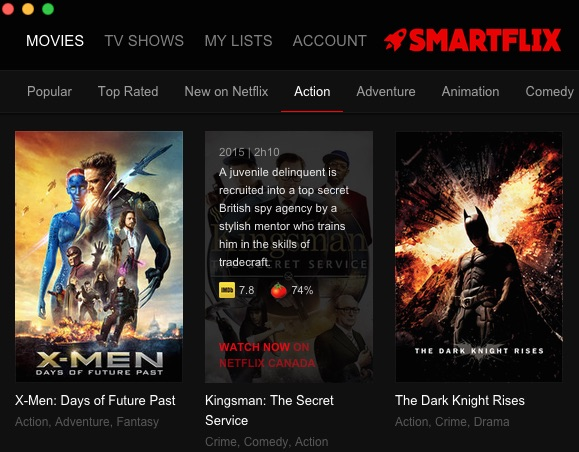 smartflix descriptions