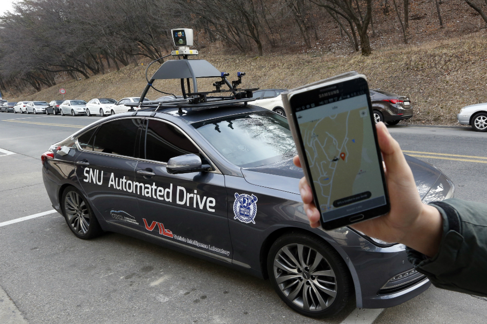 Self-driving Cars Taxi Service