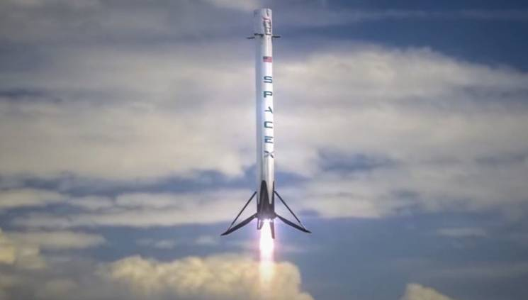 SpaceX Rocket Launch Video