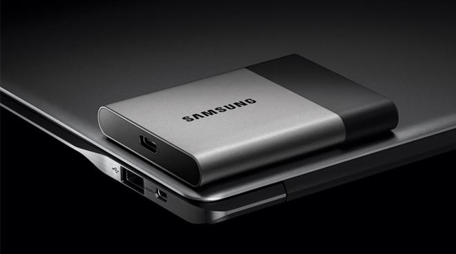 Samsung CES 2016 Portable SSD T3 Announced