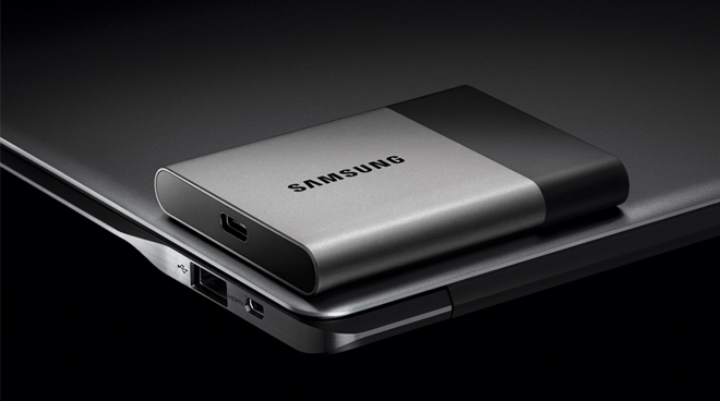 Samsung CES 2016 Portable SSD T3 Announced