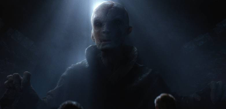 Star Wars Force Awakens Snoke Maz Photos
