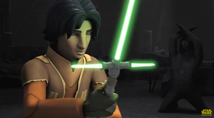 Darth Vader and Yoda w...