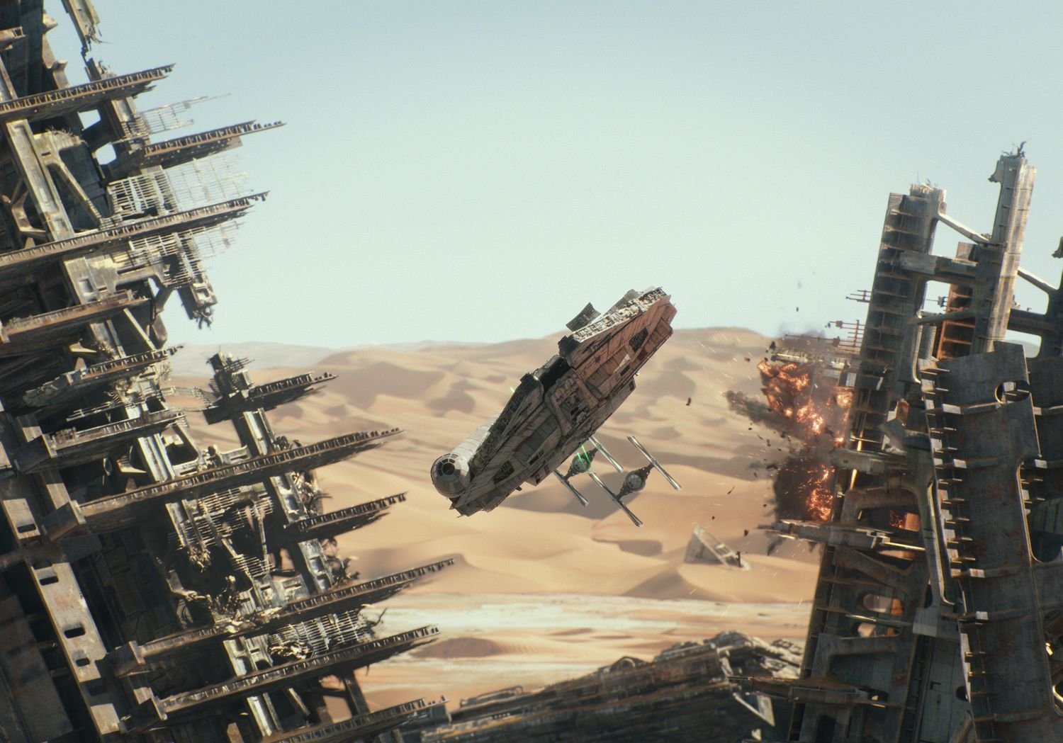 Star Wars Force Awakens VFX Video