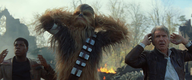 Star Wars Force Awakens Chewbacca Kylo Ren