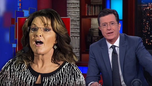 Stephen Colbert Roasts Sarah Palin