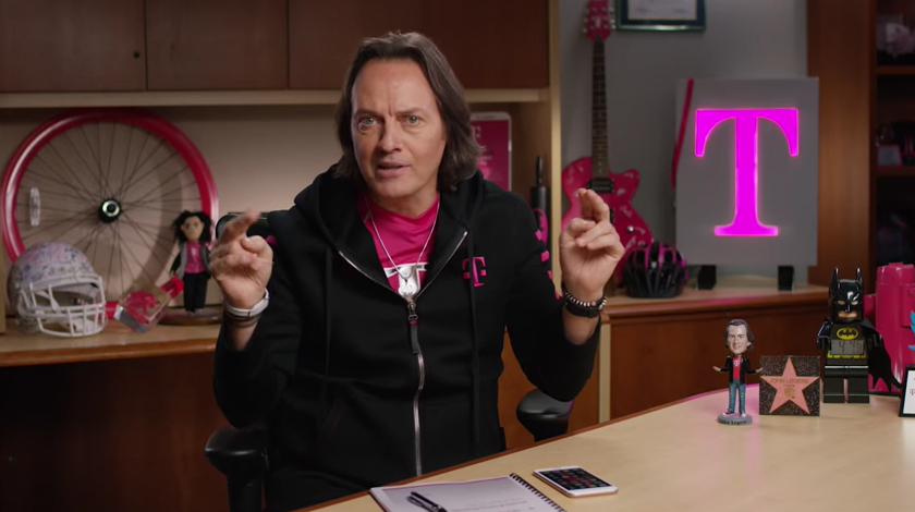 T-Mobile John Legere Binge On