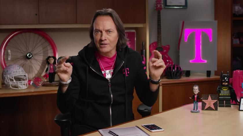 T-Mobile John Legere Binge On