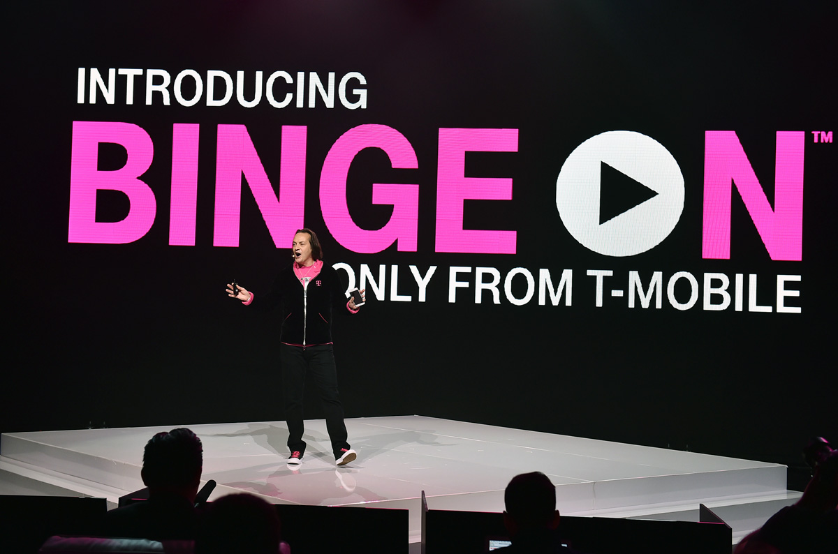 T-Mobile Binge On List