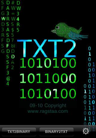 text2binary