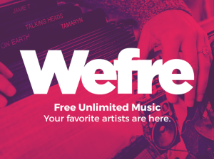 Wefre Free Spotify Alternative