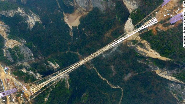 Highest Longest Glass Bridge